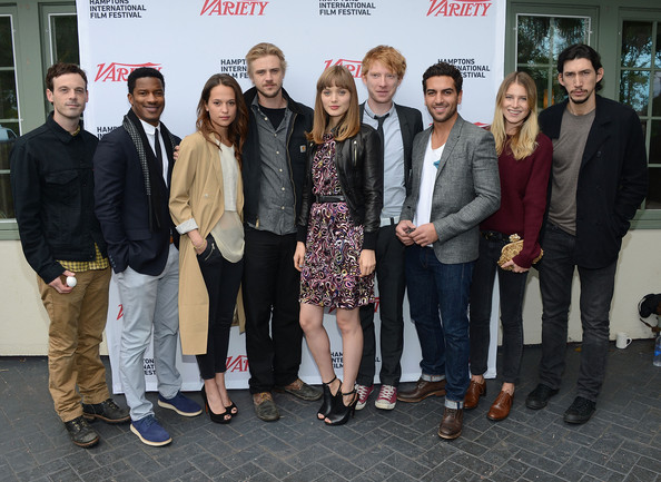 Boyd Holbrook Scoot McNairy, Nate Parter, Alicia Vikander, Boyd Holbrook, Bella Heathcote, Domhnall Gleeson, Elyas M'Barek, Dree Hemingway and Adam Driver attend the Variety Performers Brunch during the 20th Hamptons International Film Festival at Nick & Toni on October 7, 2012 in East Hampton, New York.