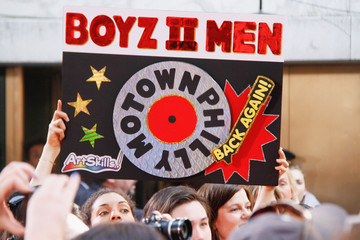 Boyz II Men Bands Perform on 'The Today Show' in NYC