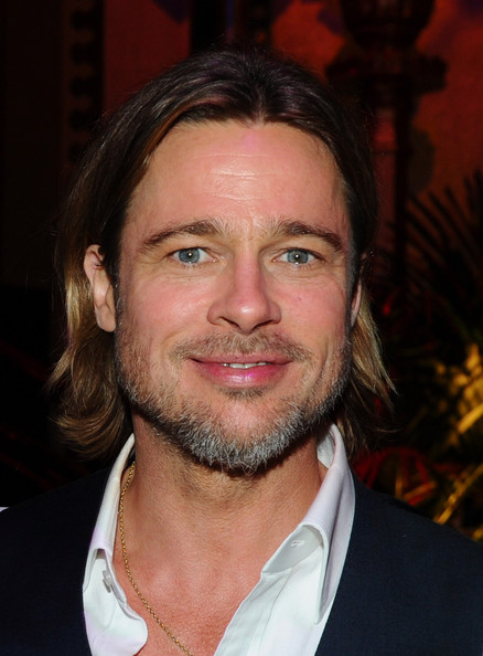 Actor Brad Pitt attends the after party for Columbia Pictures'