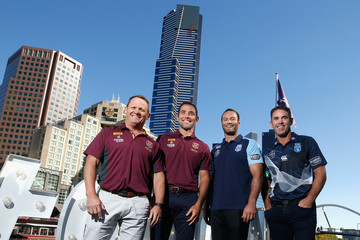 Brad Fittler Boyd Cordner State of Origin Launch