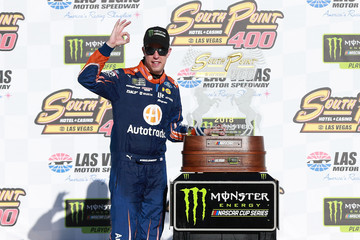 Brad Keselowski Monster Energy NASCAR Cup Series SouthPoint 400