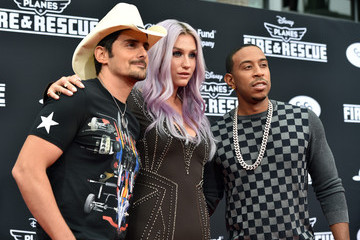 Brad Paisley Kesha 'Planes: Fire & Rescue' Premieres in Hollywood — Part 3