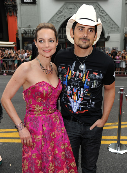 Brad Paisley And Kimberly Williams Photos Photostream Pictures Planes Fire Rescue Premieres In Hollywood