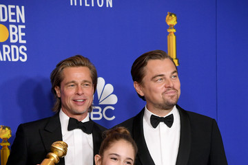 Brad Pitt Leonardo DiCaprio 77th Annual Golden Globe Awards - Best Of