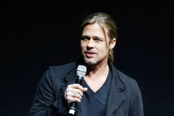 Brad Pitt Celebs Promote Their Films at CinemaCon