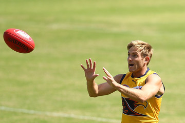 Brad Sheppard West Coast Eagles Training Session