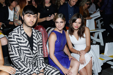 Brad Walsh Christian Siriano - Front Row - Mercedes-Benz Fashion Week Spring 2014