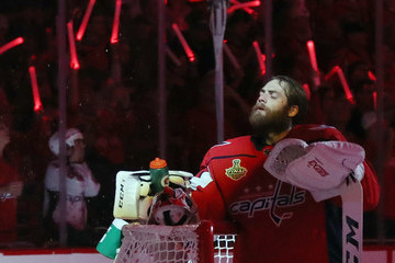 Braden Holtby 2018 NHL Stanley Cup Final - Game Three