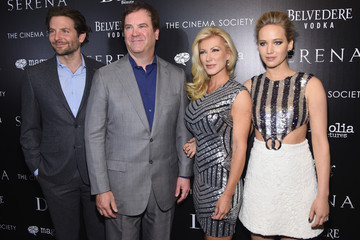 """Bradley Cooper Jennifer Lawrence Magnolia Pictures And The Cinema Society With Dior Beauty Host A Screening Of """"Serena"""" - Arrivals"""