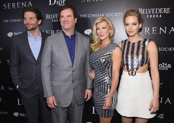 """Magnolia Pictures And The Cinema Society With Dior Beauty Host A Screening Of """"Serena"""" - Arrivals"""