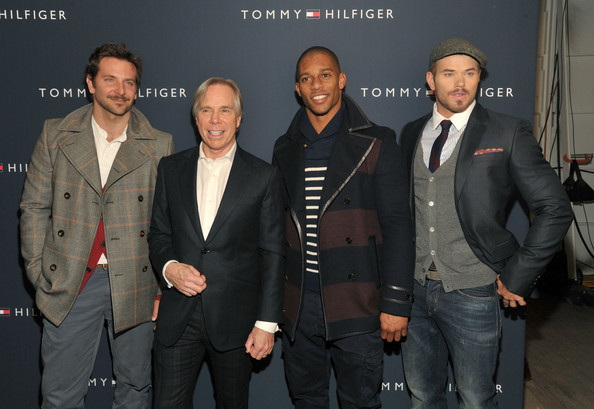 Bradley Cooper - Tommy Hilfiger Men's - Backstage - Fall 2012 Mercedes-Benz Fashion Week