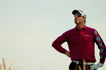 Bradley Dredge Commercial Bank Qatar Masters - Day Two