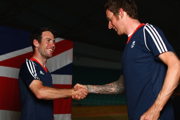 Bradley Wiggins Announcement of Track Cycling Athletes Named in Team GB for the Rio 2016 Olympic Games