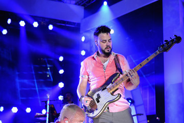 Branden Campbell Tyler Glenn iHeartRadio Ultimate Pool Party Presented By VISIT FLORIDA At Fontainebleau's BleauLive - Onstage - Day 2