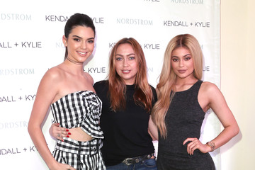 Brandi Cyrus Kendall and Kylie Jenner Celebrate Kendall + Kylie Collection at Nordstrom Private Luncheon