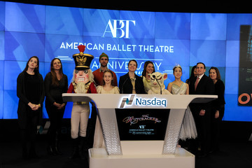 Brandon Curry 'The Nutcracker' Team Visits the NASDAQ MarketSite