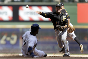 Brandon Inge Pittsburgh Pirates v Milwaukee Brewers