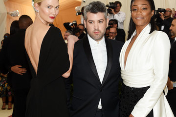 Brandon Maxwell Heavenly Bodies: Fashion & The Catholic Imagination Costume Institute Gala - Arrivals