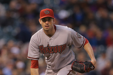 Brandon McCarthy Arizona Diamondbacks v Colorado Rockies