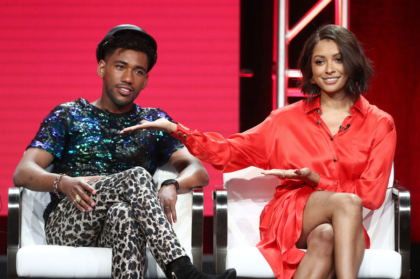 Summer 2018 TCA Press Tour - Day 3 [television show,the rise,event,fashion,performance,fashion design,conversation,brandon mychal smith,kat graham,teenage mutant ninja turtle,tca,l,viacom,press tour,segment]