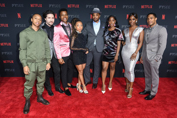 Brandon P Bell Netflix FYSee Kick Off Party - Red Carpet