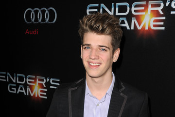 Brandon Tyler Russell 'Ender's Game' Premieres in Hollywood — Part 3