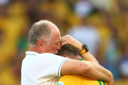 Luiz Felipe Scolari Neymar Photos Photo