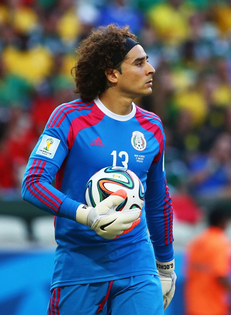 Guillermo ochoa photos photos brazil v mexico group a - Guillermo ochoa wallpaper ...