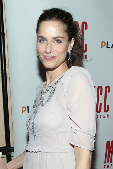 "Amanda Peet attends the after party for the opening night of ""The Break of Noon"" at 49 Grove on November 22, 2010 in New York City."