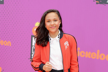 Breanna Yde Nickelodeon Kids' Choice Sports Awards 2017 - Red Carpet