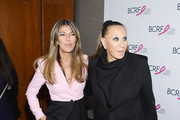 Nina García and Donna Karan attend the Breast Cancer Research Foundation (BCRF) New York symposium & awards luncheon on October 17, 2019 in New York City.