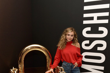 Brec Bassinger Moschino X H&M Los Angeles Launch Event