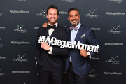 """Actor Ian Bohen and President of Breguet North America Ahmad Shahriar attend the Breguet """"Classic Tour"""" at Carnegie Hall on July 12, 2018 in New York City."""