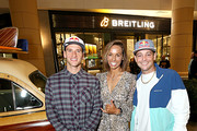 Breitling Ambassador and Motorcross racer Ken Roczen, Professional surfer Sally Fitzgibbons and Professional skateboarder Ryan Sheckler attend the Breitling Boutique San Diego grand opening celebration on February 05, 2020.