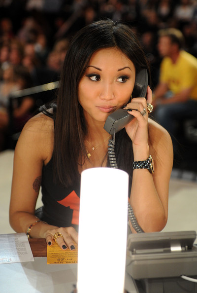 Brenda Song In this handout photo provided by Getty Images, actress Brenda Song speaks during Stand Up To Cancer at Sony Pictures Studios on September 10, 2010 in Culver City, California.