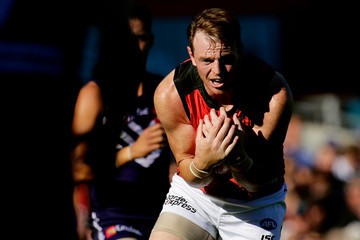 Brendon Goddard AFL Rd 7 - Fremantle v Essendon
