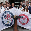 Brenna Huckaby President Trump Welcomes U.S. Olympic Athletes To The White House