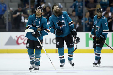 Brent Burns Vegas Golden Knights vs. San Jose Sharks - Game Six