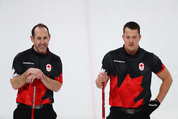 Brent Laing Curling - Winter Olympics Day 13