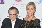 Larry King and Shawn King Photos Photo