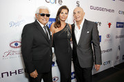 (L-R) Pete Escovedo, Robert Shapiro, and Linell Shapiro attend Brent Shapiro Foundation Summer Spectacular 2019 at The Beverly Hilton Hotel on September 21, 2019 in Beverly Hills, California.