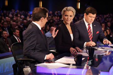Bret Baier Republican Presidential Candidates Debate in Iowa Days Before State's Caucus