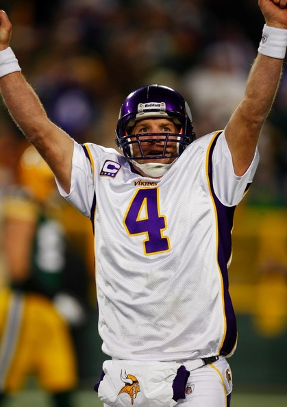 brett favre vikings celebrating. quarterback rett , vikingsaug , warm welcome on the charm favresep Photograph mike roemer jan , from the minnesota your Brett+favre+vikings+celebrating
