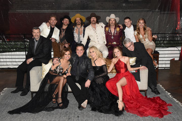 Brett Young Big Machine Label Group Celebrates The 51st Annual CMA Awards In Nashville - Inside