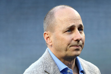 Brian Cashman American League Wild Card Game - Minnesota Twins v New York Yankees