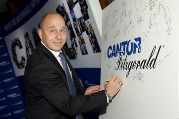 Brian Cashman Annual Charity Day Hosted By Cantor Fitzgerald, BGC, And GFI - Cantor Fitzgerald Office - Inside