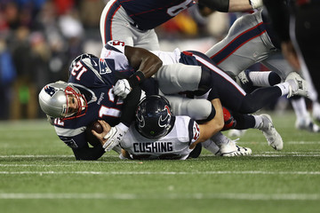 Brian Cushing Divisional Round - Houston Texans v New England Patriots