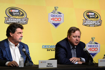 Brian France Chicagoland Speedway: Day 1