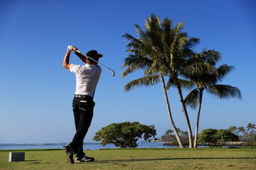 Brian Gay Sony Open In Hawaii - Round Two