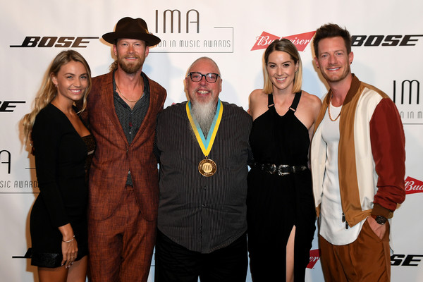 Innovation In Music Awards - Show [event,fashion,technology,award,team,style,brittney marie cole,hayley stommel,john marks,brian kelly,in music awards - show,spotify,nashville,tennessee,florida georgia line,innovation in music awards]